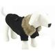 Pet Life Coast-Guard Wool Pet Coat Medium