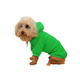 Pet Life Plush Cotton Pet Hoodie Mint Green XS