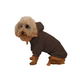 Pet Life Cotton Pet Hoodie Cocoa Brown LG