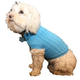 Pet Life Heavy-Cotton Ribbed Pet Sweater Blue MD