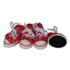 Pet Life Extreme-Skater Pet Sneakers Pink XS