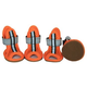 Pet Life Sporty Mesh Pet Sandal Shoes Orange XS