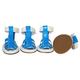 Pet Life PVC Waterproof Pet Sandal Shoes Blue XS