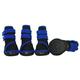 Pet Life Performance Stretch Pet Shoes Blue XS