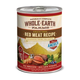 Whole Earth Farms Red Meat Can Dog Food 12pk