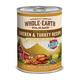 Whole Earth Farms Chicken/Turkey Can Dog Food 12pk