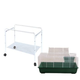 A and E Small Animal Cage & Stand Kit Large Red