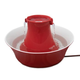 Drinkwell Red Ceramic Avalon Pet Fountain
