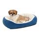 Quiet Time Boutique Cuddle Pet Bed Blue Small