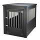 New Age Pet Espresso Dog Crate w/ Metal Spindles X