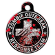 Zombie Outbreak Response Team Pet ID Tag Small