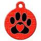 A Dogs Word Pet ID Tag Large
