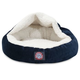 Majestic Pet 18 inch Villa Navy Canopy Pet Bed