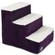 Majestic Pet Villa Aubergine Pet Stairs 4 Step