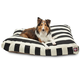 Majestic Outdoor Black Stripe Rectangle Pet Bed SM
