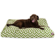 Majestic Outdoor Sage Chevron Rectangle Pet Bed SM