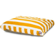 Majestic Outdoor Yellow Stripe Rectangle Pet Bed S