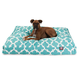 Majestic Outdoor Teal Trellis Rectangle Pet Bed SM