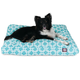 Majestic Outdoor Teal Links Rectangle Pet Bed SM