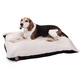 Majestic Pet Black Rectangle Pet Bed 42x60