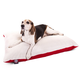 Majestic Pet Red Rectangle Pet Bed 42x60