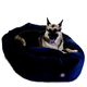 Majestic Pet Navy Villa Bagel Pet Bed 52 inch