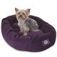 Majestic Pet Aubergine Villa Bagel Pet Bed 52 inch