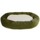 Majestic Pet Fern Villa Sherpa Bagel Bed 52 inch