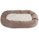 Majestic Pet Pearl Villa Sherpa Bagel Bed 52 inch