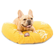 Majestic Pet Outdoor Yellow Coral Round Pet Bed LG