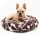 Outdoor Chocolate Plantation Round Pet Bed LG