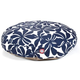 Majestic Outdoor Navy Plantation Round Pet Bed LG