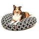 Majestic Pet Outdoor Black Links Round Pet Bed LG