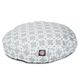 Majestic Pet Outdoor Gray Links Round Pet Bed SM