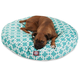 Majestic Pet Outdoor Teal Links Round Pet Bed LG