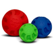 Swirl Ball Soft Flex Dog Toy 7in