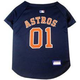MLB Houston Astros Dog Jersey Large