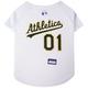 MLB Oakland Athletics Dog Jersey X-Small