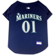 MLB Seattle Mariners Dog Jersey X-Small
