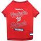 MLB Washington Nationals Dog Tee Shirt Large