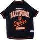 MLB Baltimore Orioles Dog Tee Shirt X-Small