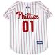 MLB Philadelphia Phillies Dog Jersey Large