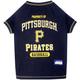 MLB Pittsburgh Pirates Dog Tee Shirt Large