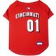 MLB Cincinnati Reds Dog Jersey X-Small
