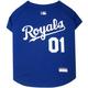 MLB Kansas City Royals Dog Jersey  Large