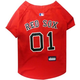 MLB Boston Red Sox Dog Jersey  Large