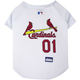 MLB St. Louis Cardinals Dog Jersey Large