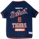 MLB Detroit Tigers Dog Tee Shirt Large