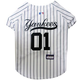 MLB New York Yankees Dog Jersey Large