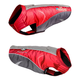 Helios Altitude Waterproof Dog Coat XL Red/Gray